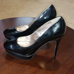 Steve Madden Saane Pumps 6 Black Patent Heels